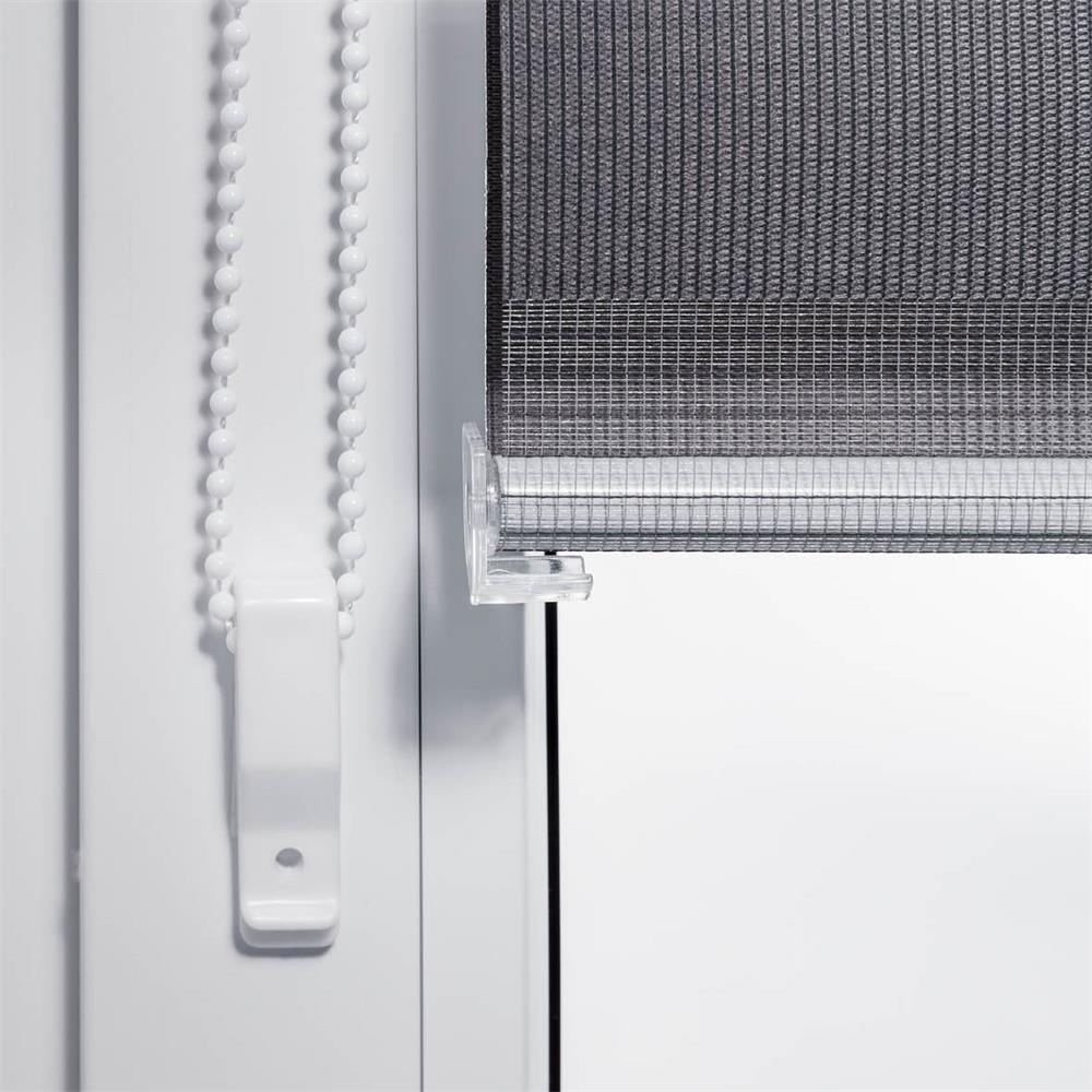 doppelrollo klemmfix ohne bohren duo rollo easyfix variorollo fenster klemmrollo ebay. Black Bedroom Furniture Sets. Home Design Ideas