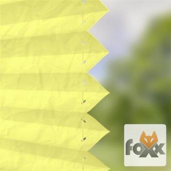 Plissee FOXX CRUSH 09 gelb