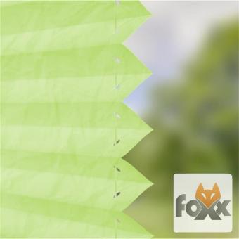 Plissee FOXX CRUSH 27 grün
