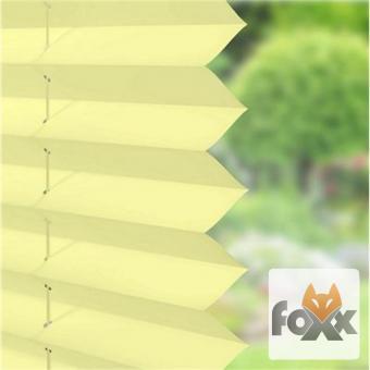 Plissee FOXX UNI 08 gelb