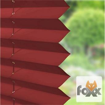 Plissee FOXX UNI 11 rot
