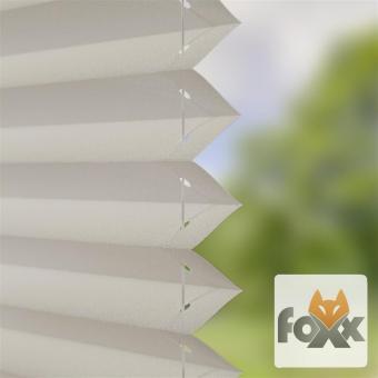Plissee FOXX UNI 02 grau