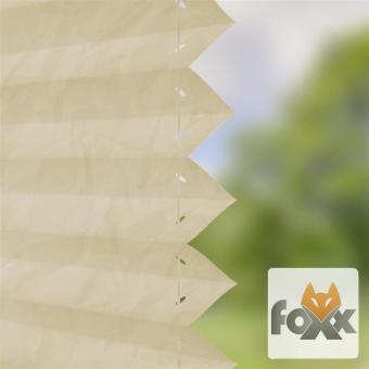 Plissee FOXX CRUSH 06 creme