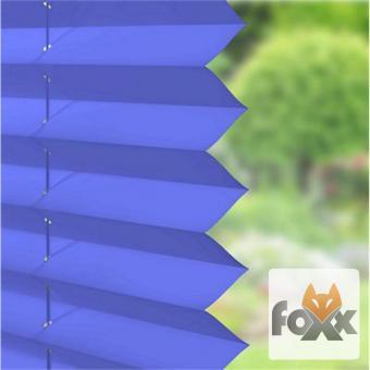 Plissee FOXX UNI 16 blau