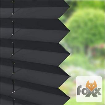 Plissee FOXX Uni 1320 schwarz